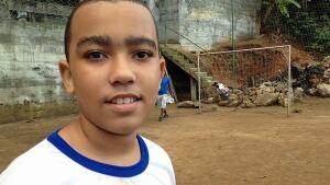 Brazil favela soccer