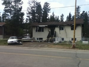 whitehorse McIntyre Crescent fire