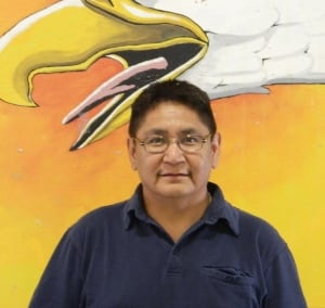 Shoal Lake First Nation Chief Erwin Redsky