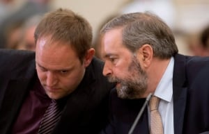 NDP Leader Tom Mulcair at Procedure and House Affairs Committee