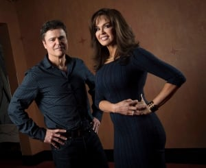Donny and Marie Osmond promote their Toronto Xmas shows