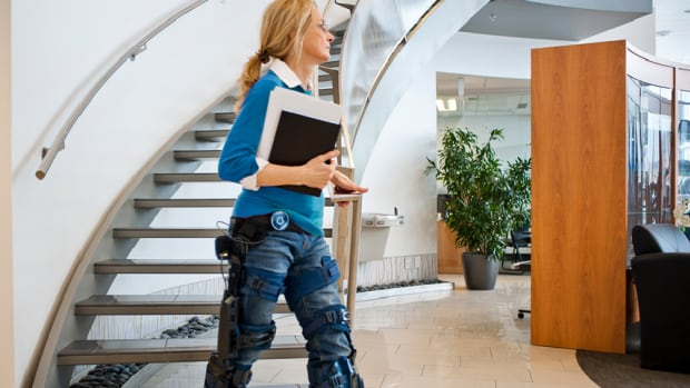 The motorized prosthesis will move exactly as the user wants to move.