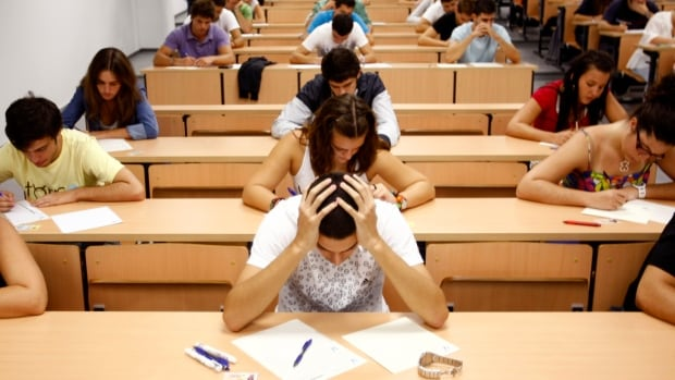 University of Calgary students identified stress as the number one factor affecting academic performance.