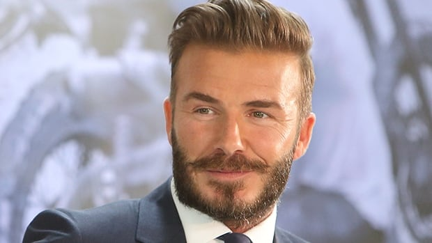 David Beckham, shown in this file photo, may be toying with idea of a comeback after retiring from soccer in 2013.
