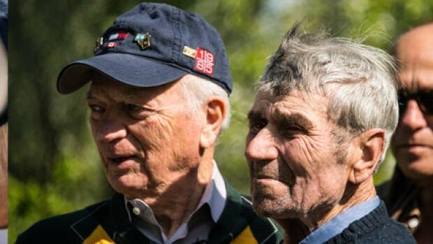 Sidney Zoltak reunited with Holocaust rescuer