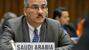 audi Deputy Health Minister Ziad Memish at a MERS meeting