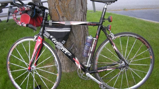 RCMP released this photo of Craig Premack's bike, in hopes someone might come forward with information about the shooting.