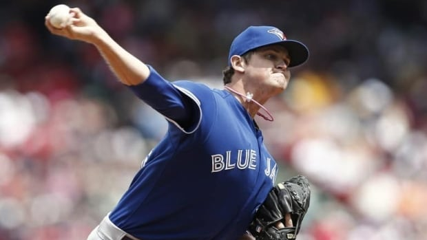 Righty Chad Jenkins has three appearances with the Blue Jays so far this season.