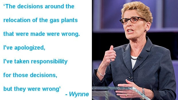 Leader debate quotes: Kathleen Wynne