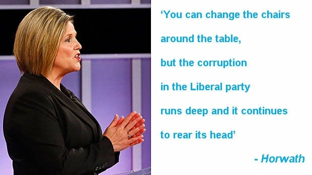 Leaders debate quotes: Andrea Horwath