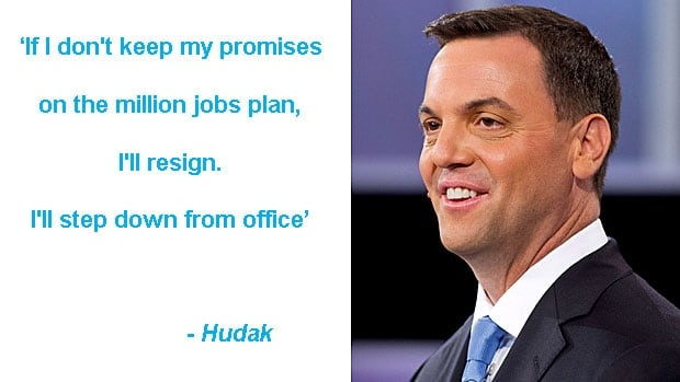 Leaders debate quotes: Tim Hudak