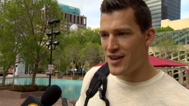 Edmonton Oilers captain Andrew Ference will walk in this Saturday's Pride Parade through downtown.