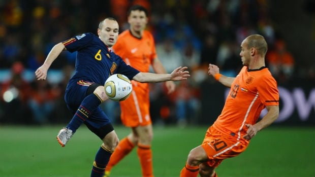 A rematch of the 2010 World Cup final, the Spain-Netherlands clash could be the marquee matchup of the group phase