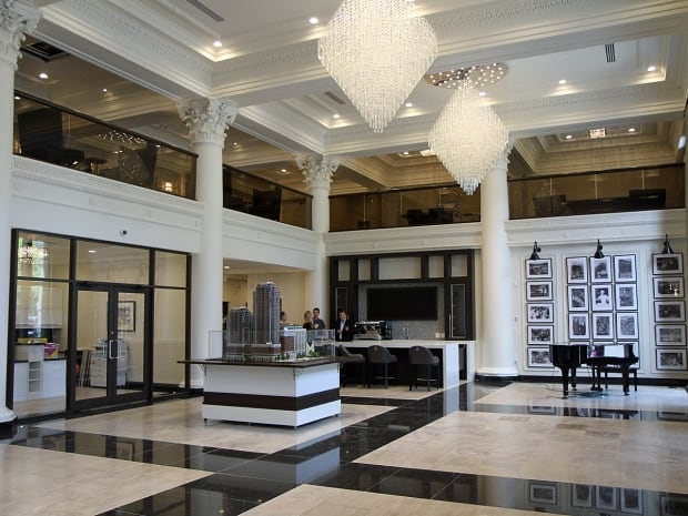 Restored Royal Connaught lobby