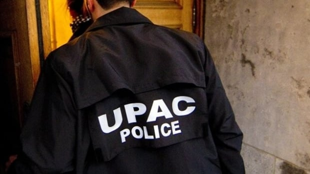 UPAC raided five addresses in the Montreal area on Wednesday.