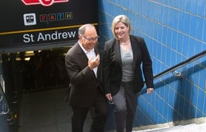 Rosario Marchese and Andrea Horwath