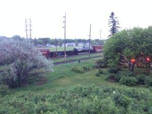 fire in boxcar