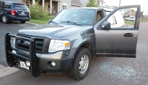 Moncton shooting RCMP SUV
