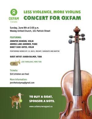 Less Violence, More Violins