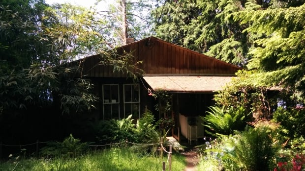 Jo Ledingham's cabin is one of seven on the water in Belcarra Regional Park. Metro Vancouver issued residents an eviction notice in February, giving them until June 30th to move out.