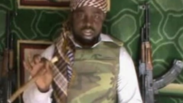 Imam Abubakar Shekau, pictured in 2012 in a video posted by Boko Haram sympathizers, is the leader of the radical Islamist sect.