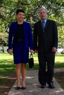 Jennifer Campeau and Mark Docherty  skpic