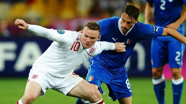 Italy and England will face off in a rematch of the Euro 2012 quarter-final.