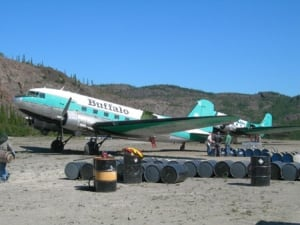 Buffalo AIrways DC-3s