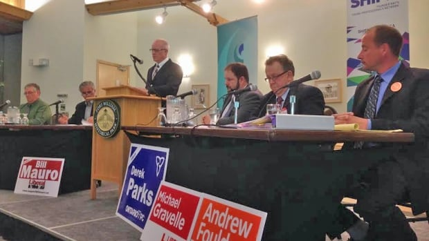 About 50 people came out to a Thunder Bay Chamber of Commerce debate Thursday night to hear Ontario election candidates what they will do for the Thunder Bay region.