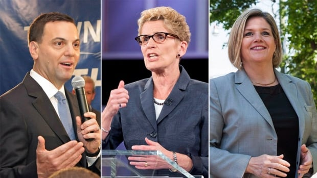 All three of Ontario's major party leaders have laid out their respective to-do lists for the weeks following Thursday's election.