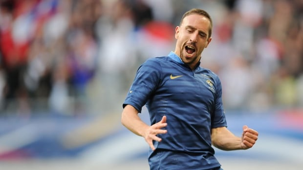 French forward Franck Ribery's World Cup dream is over. A back injury will keep him out of Brazil 2014.
