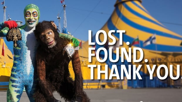 Items worth $28,000 were stolen from Cirque du Soleil's tent on Saturday and were an integral part of its Totem production. They have now been returned.