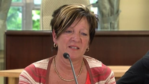 Hélène Rousseau, mother of slain RCMP officer Dave Ross, said her son's last words to her were, 'Mom, never forget that I love you.'""