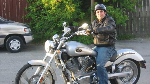 Tony Harrison was riding his motorcycle when he died in May of 2012.
