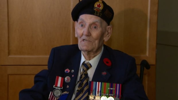Roy Pritchard, 95, was one of 14,000 Canadian troops who landed on Juno Beach on June 6, 1944.