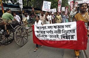 Kolkata rape protest