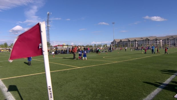 Saskatoon Youth Soccer holds its annual Mini Festival of Soccer at the Sasktel Sports Centre.