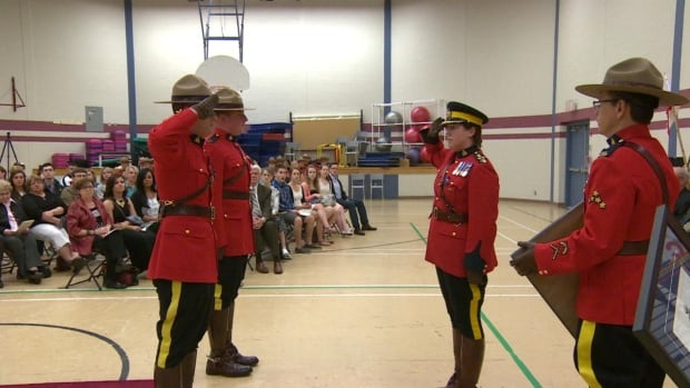 28 RCMP Officers were awarded for outstanding community service on Friday. The ceremony had a sombre tome in the wake of the Moncton shootings.