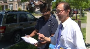 City Councillor Raymond Cho, running for Tories