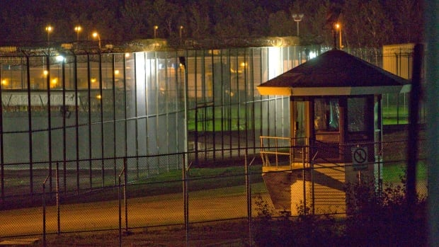 The prison yard of the Orsainville Detention Centre in Quebec was the site of a jailbreak using a helicopter on June 7.