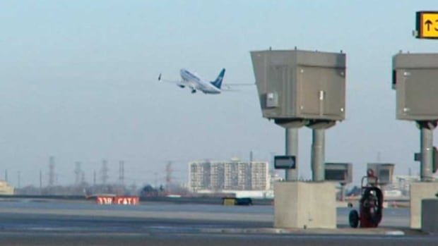 The Transportation Safety Board is investigating a near run-in between planes on the Winnipeg James Armstrong Richardson International Airport runway Monday.