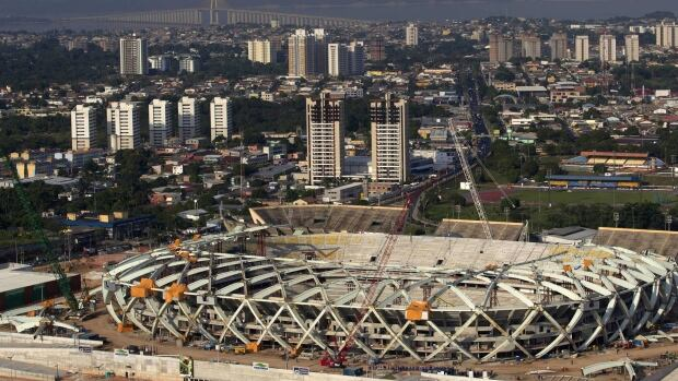 Arena da Amazonas Brazil World Cup