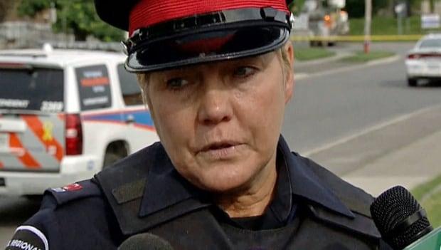 Peel Regional Police Const. Lillian Fitzpatrick