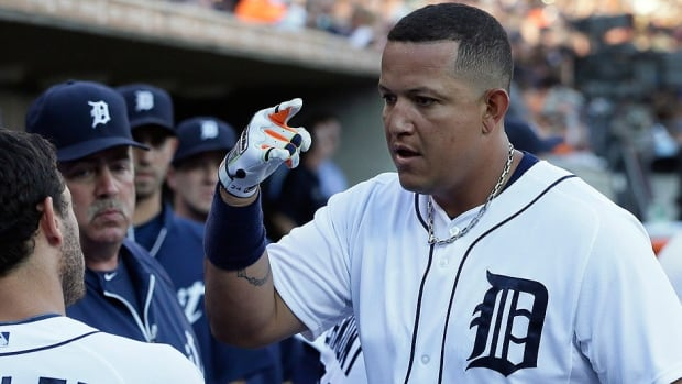 Tigers first baseman Miguel Cabrera left Sunday night's game against Boston with left hamstring tightness. Cabrera was bothered last year by shin and groin injuries, and he had muscle repair surgery in the off-season.