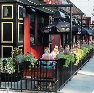 Saskatoon sidewalk cafe