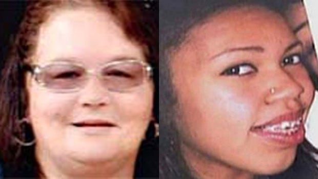 The bodies of of Karrie-Ann Stone, 42 (left). and Tyeshia Jones, 18, were found in 2010 and 2011. William Gordon Robert Elliot, 25, pleaded guilty to second-degree murder in 2013 in the deaths.