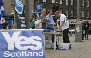 Scottish Referendum Campaigning