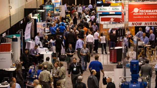 The Global Petroleum Show kicked off in Calgary on Tuesday. It runs from June 10 to 12 at Stampede Park, the Telus Convention Centre and other downtown venues.