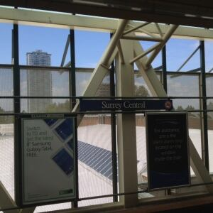 Surrey Central Skytrain