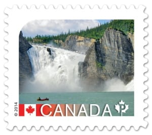 Nahanni National Park postage stamp